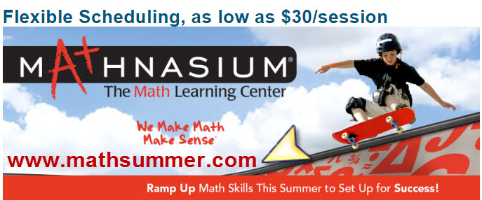 Math summer programs